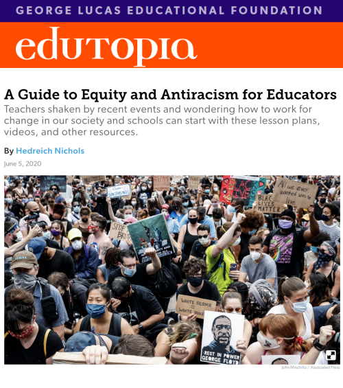 A Guide to Equity and Antiracism for Educator